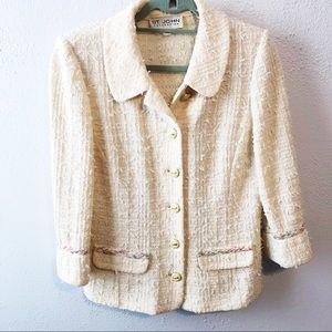 St John vintage blazer cardigan size 6